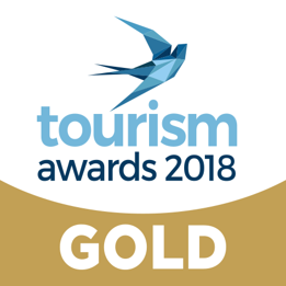 Tourism Awards Gold 2018